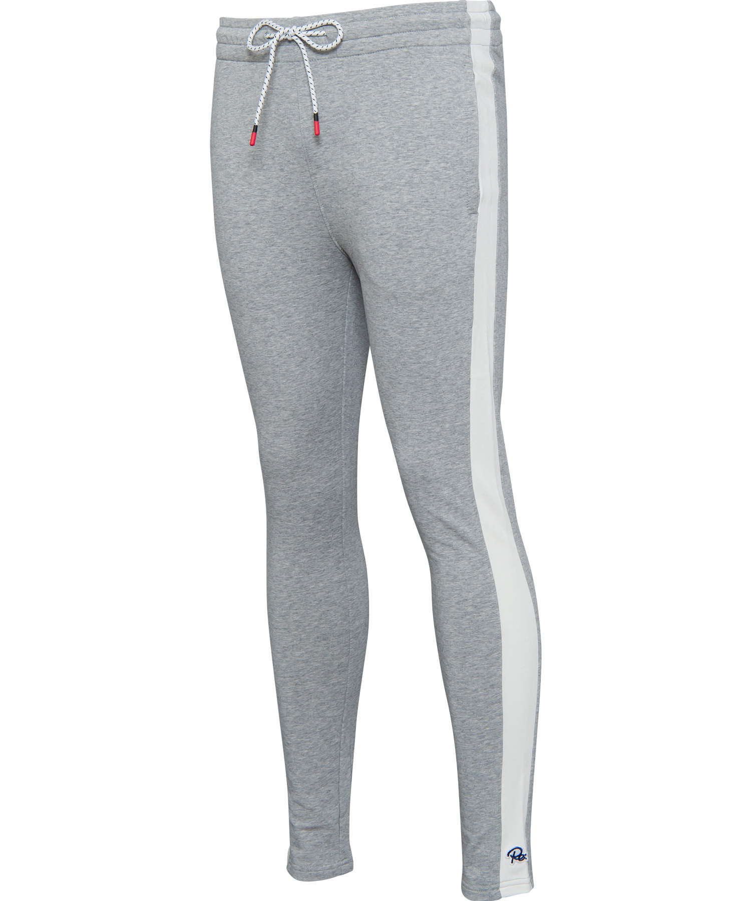 SIDE LINE SKINNY SWEAT PANTS[REP065]