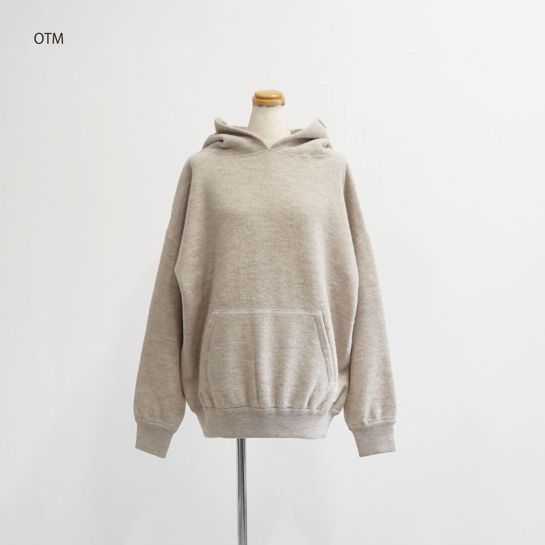 ORDINARY FITS オーディナリーフィッツ PARKA KNIT/garment wash ニットパーカー (品番of-n020)