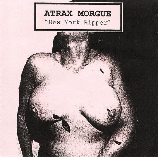 Atrax Morgue – New York Ripper(CDR)USED