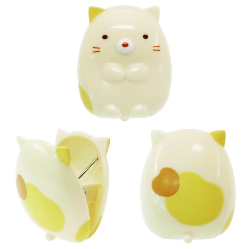猫クリップ(すみっコぐらしダイカットクリップねこ)3個セット