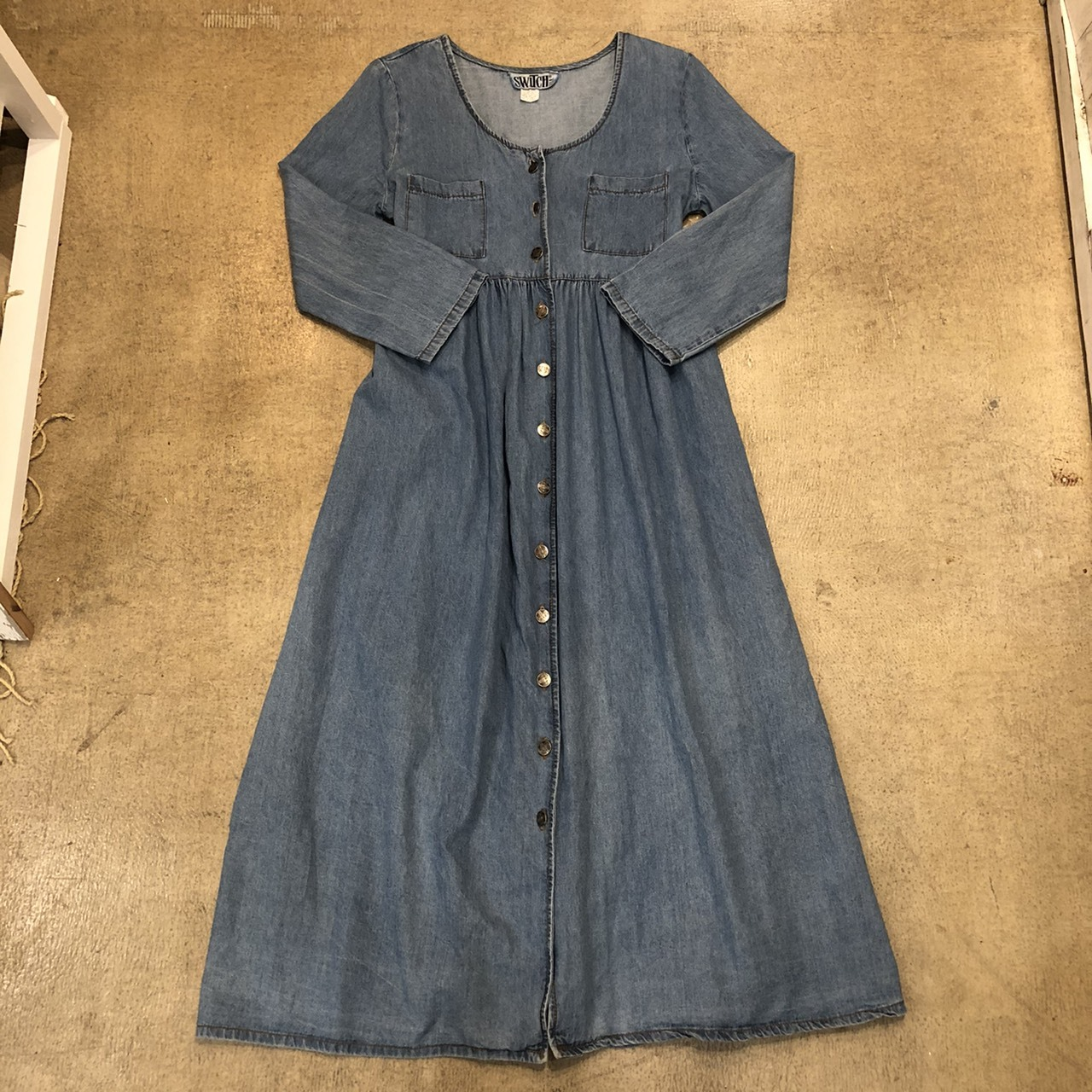Chambray Onepiece ¥6,700+tax