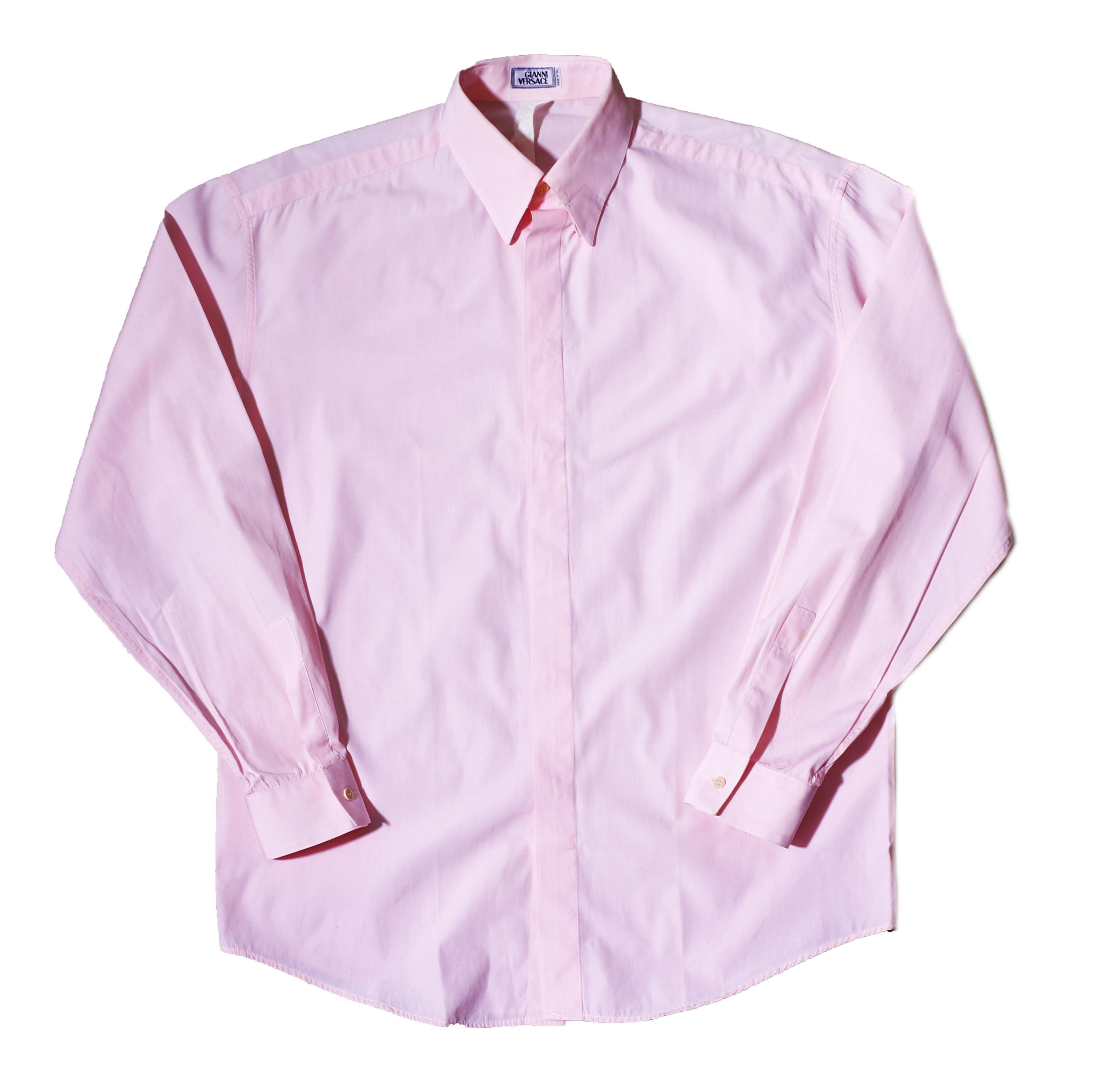 GianniVersace BabyPink DressShirts