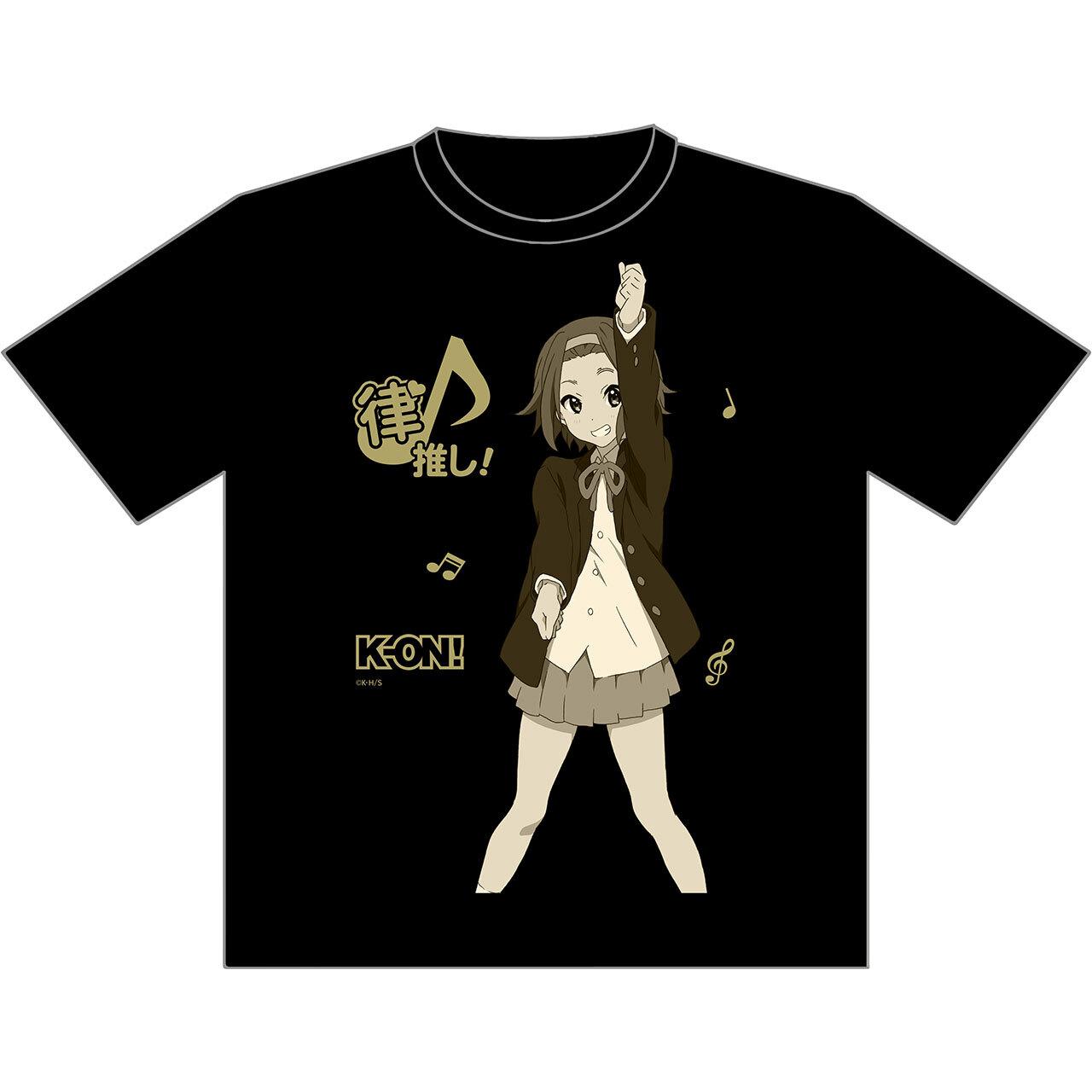 【4589839351089】けいおん! 推しTシャツ 律XL