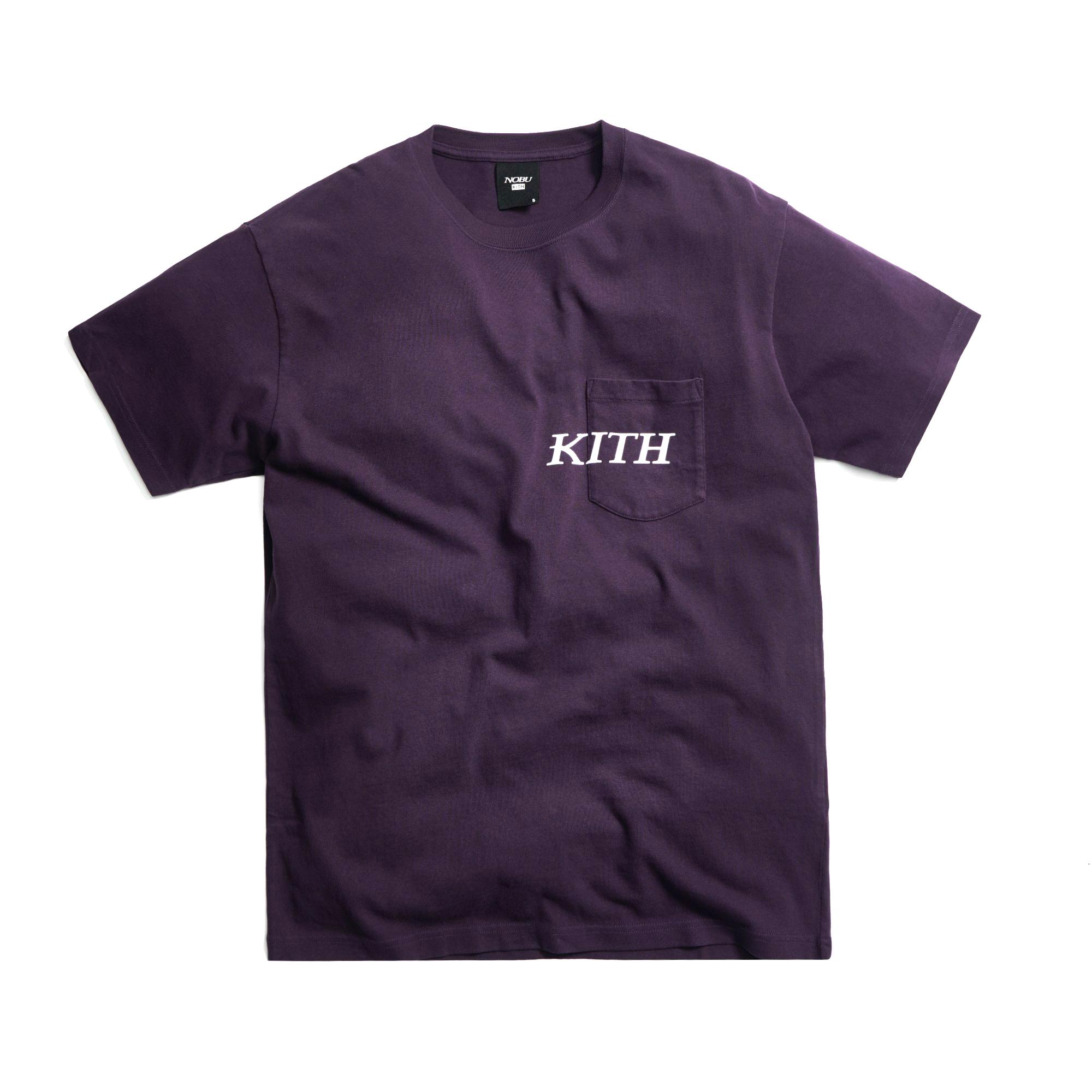 KITH × NOBU Worldwide T-Shirts PURPLE