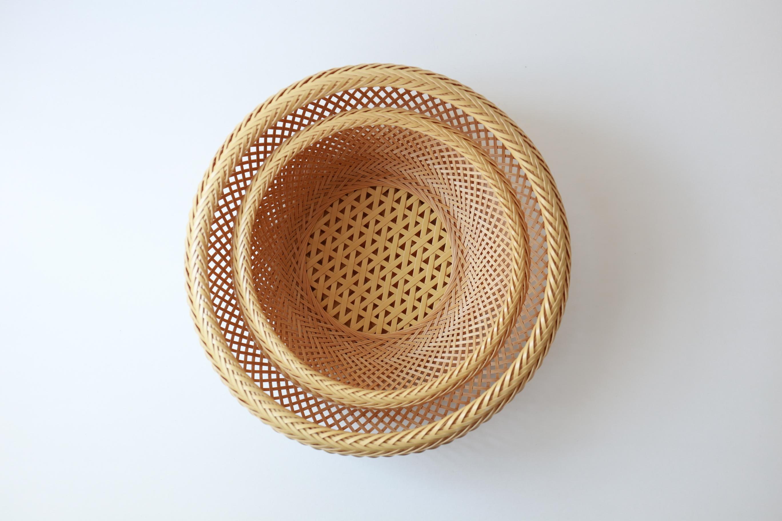 児玉美重 鉄鉢盛りかご(小)