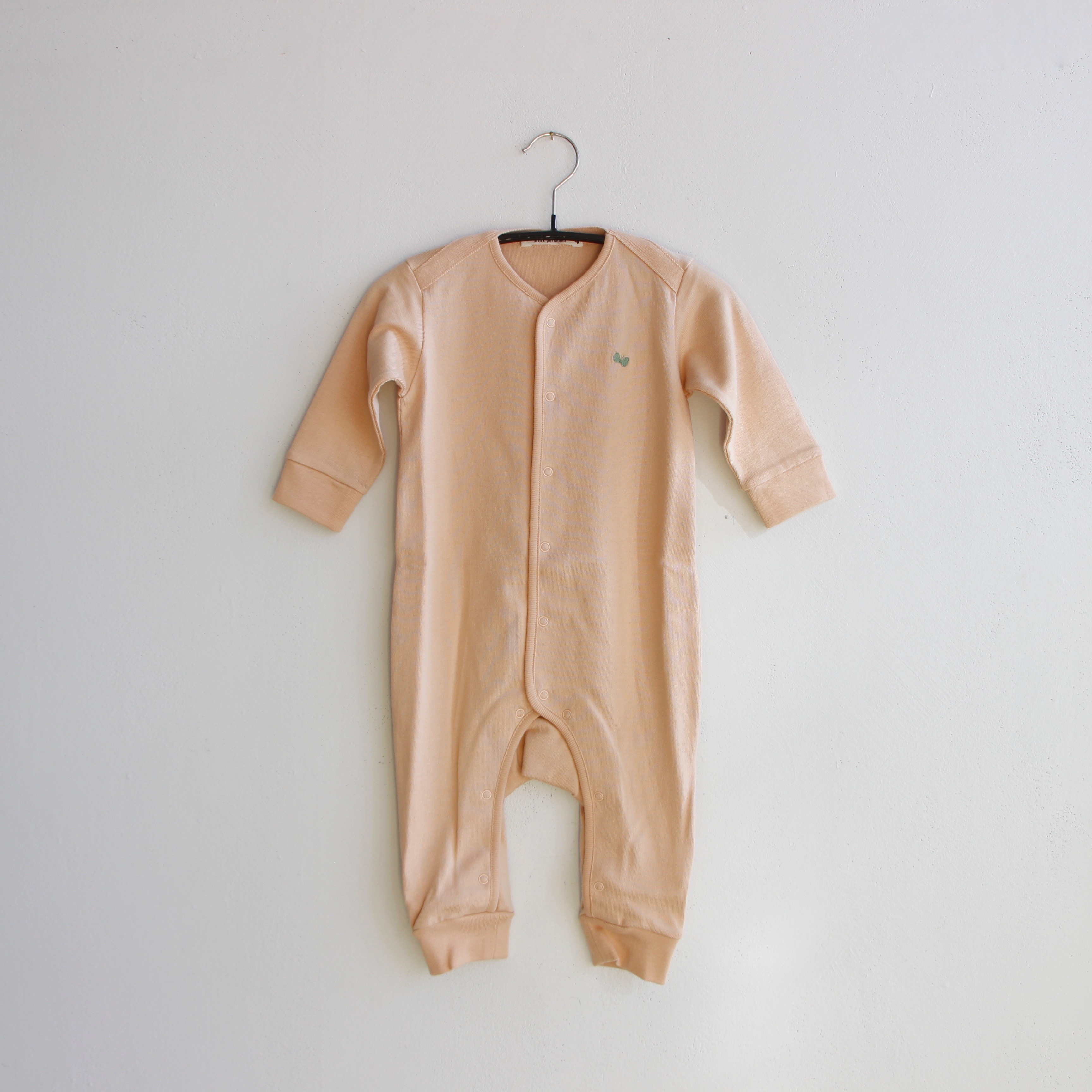 《mina perhonen 2020AW》zutto ロンパース / pinkbeige / 70cm