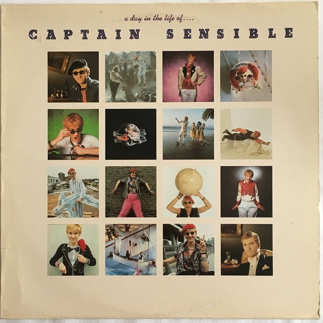 【LP・加盤】Captain Sensible / A Day In The Life Of...Captain Sensible