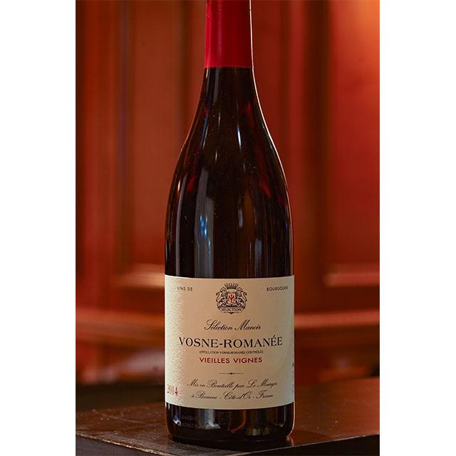 2014年ヴォーヌ ロマネ 赤ワイン