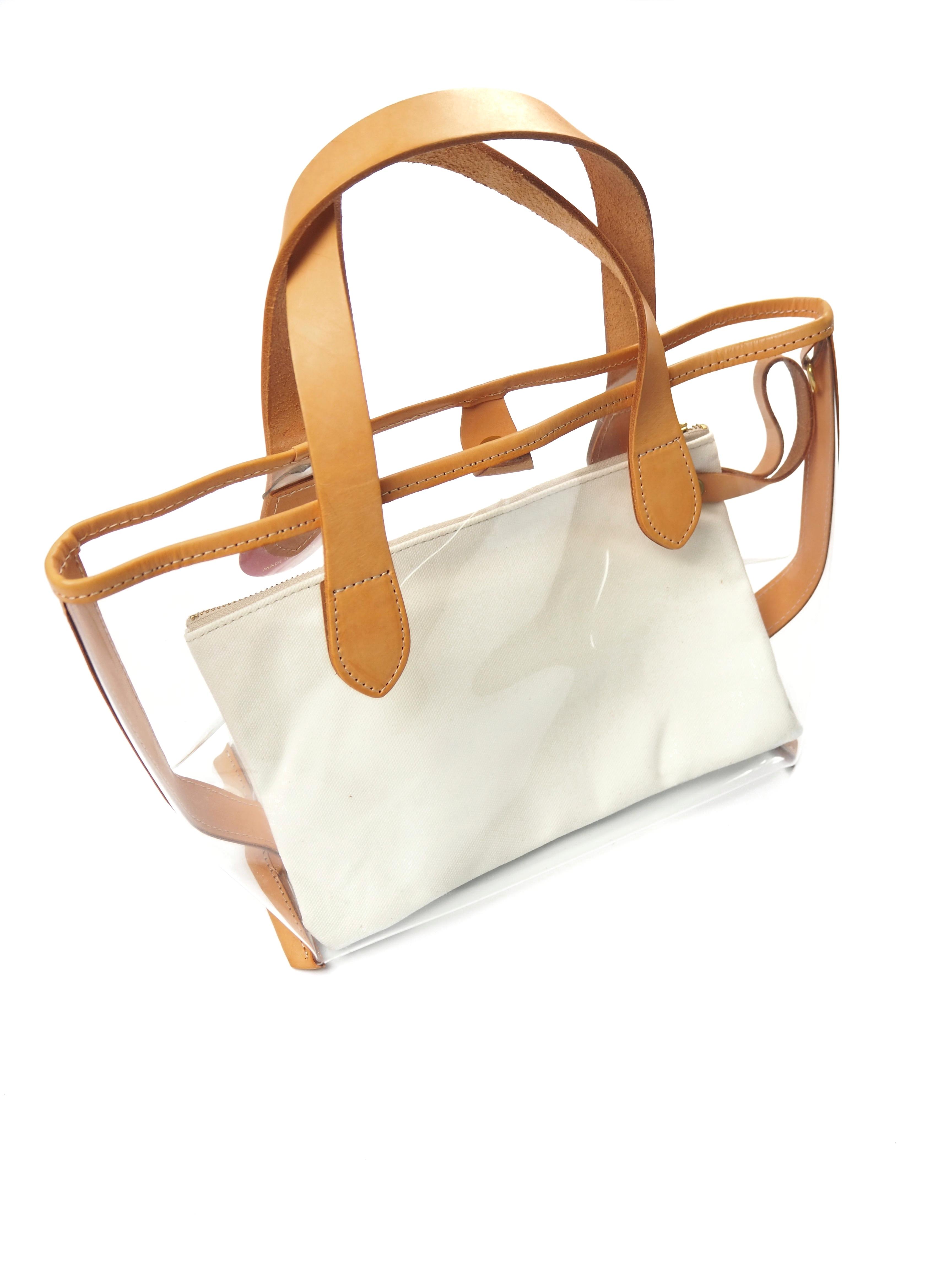 【U3GI】CLEAR BUCKET BAG