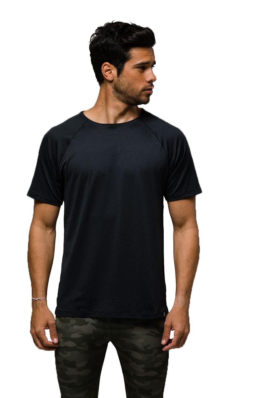 Raglan Short Sleeve Black