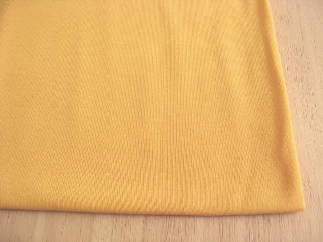 J&B定番 綿コーマ糸フライスニット シトラスオレンジ NTM-2575