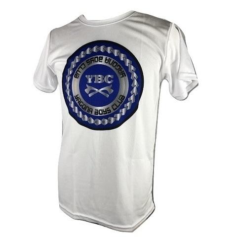 【YBC】Blue logo Tshirts White
