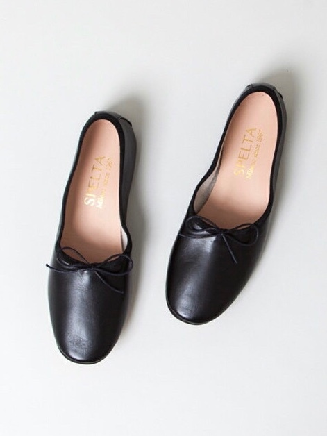 【SPELTA】BALLET SHOES/BLK