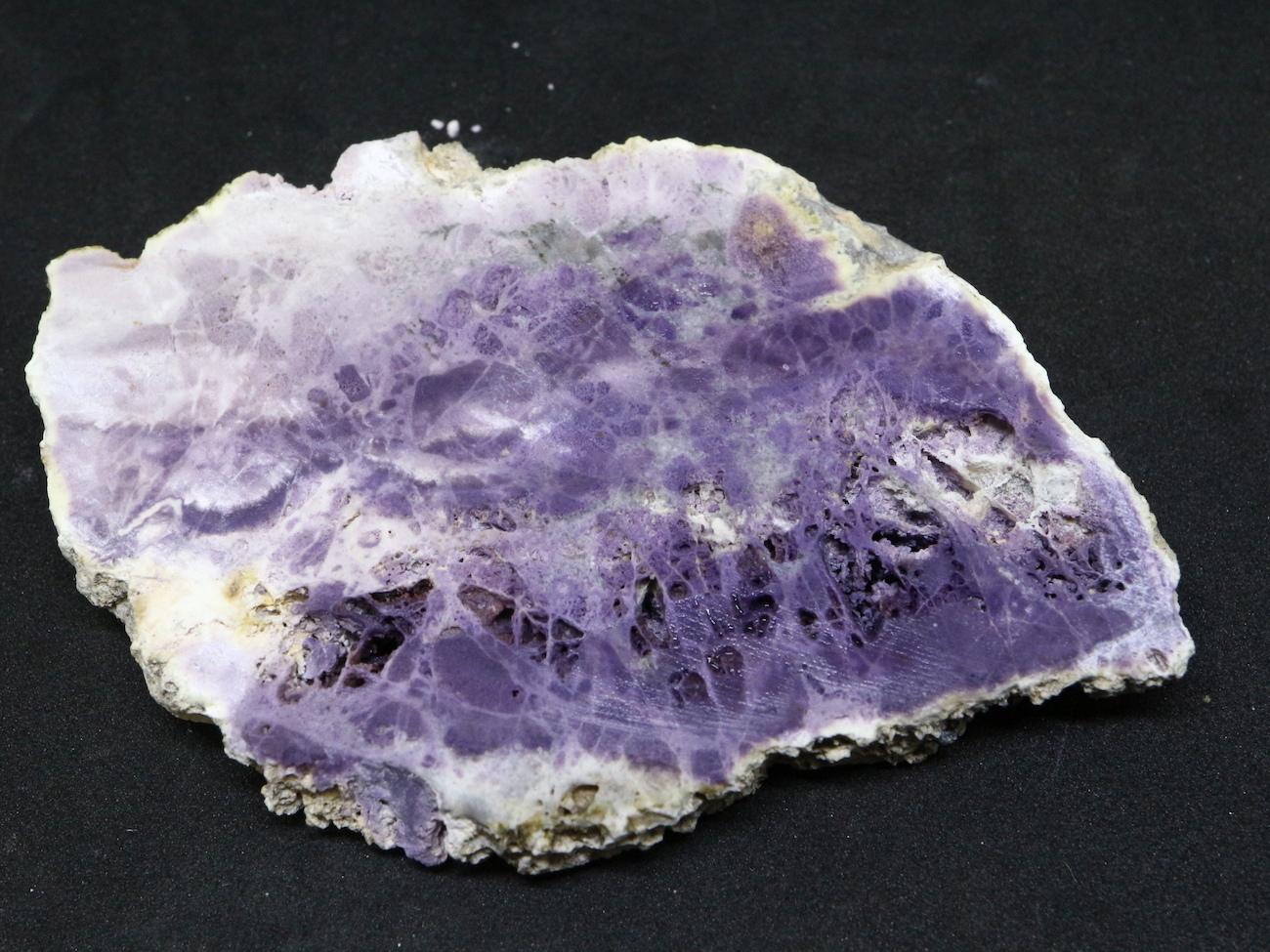 超希少!ティファニーストーン スライス  原石 ユタ州産 69g 鉱物 TF017