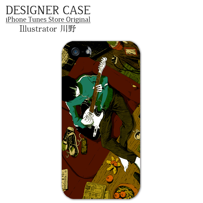 iPhone6 Soft case [Telecaster3]  Illustrator:Kawano