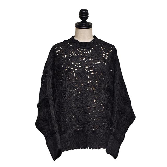 NATALIE KOLYOZYAN / Embroidered Knitwear / Black
