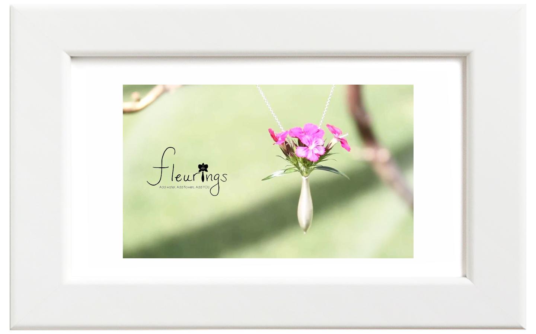 Fleurings/フルーリングス シルバーブラッシュネックレス