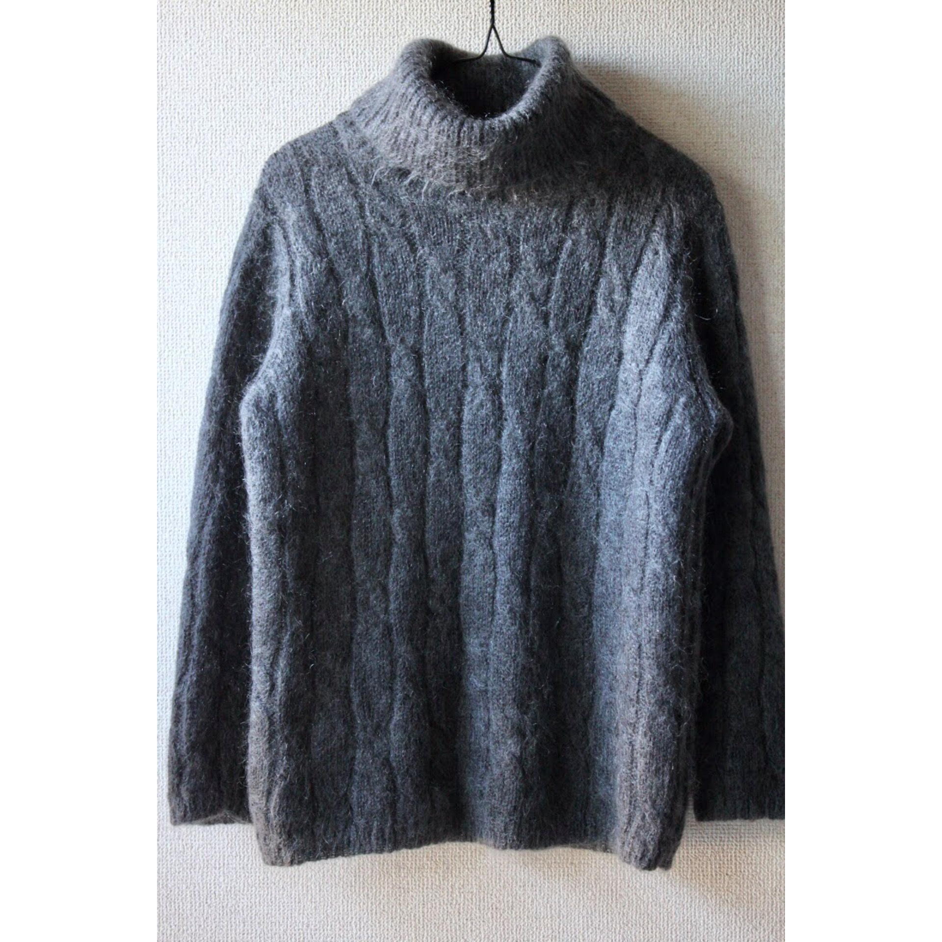 Vintage mohair mixed sweater