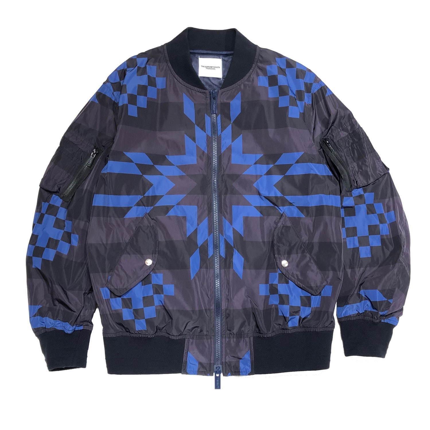 sj.0042AW19 flight jacket. (block star)