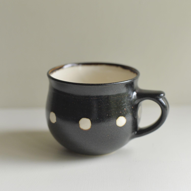 陶工房アッシュワーク ドットマグカップ 商品番号:ac3