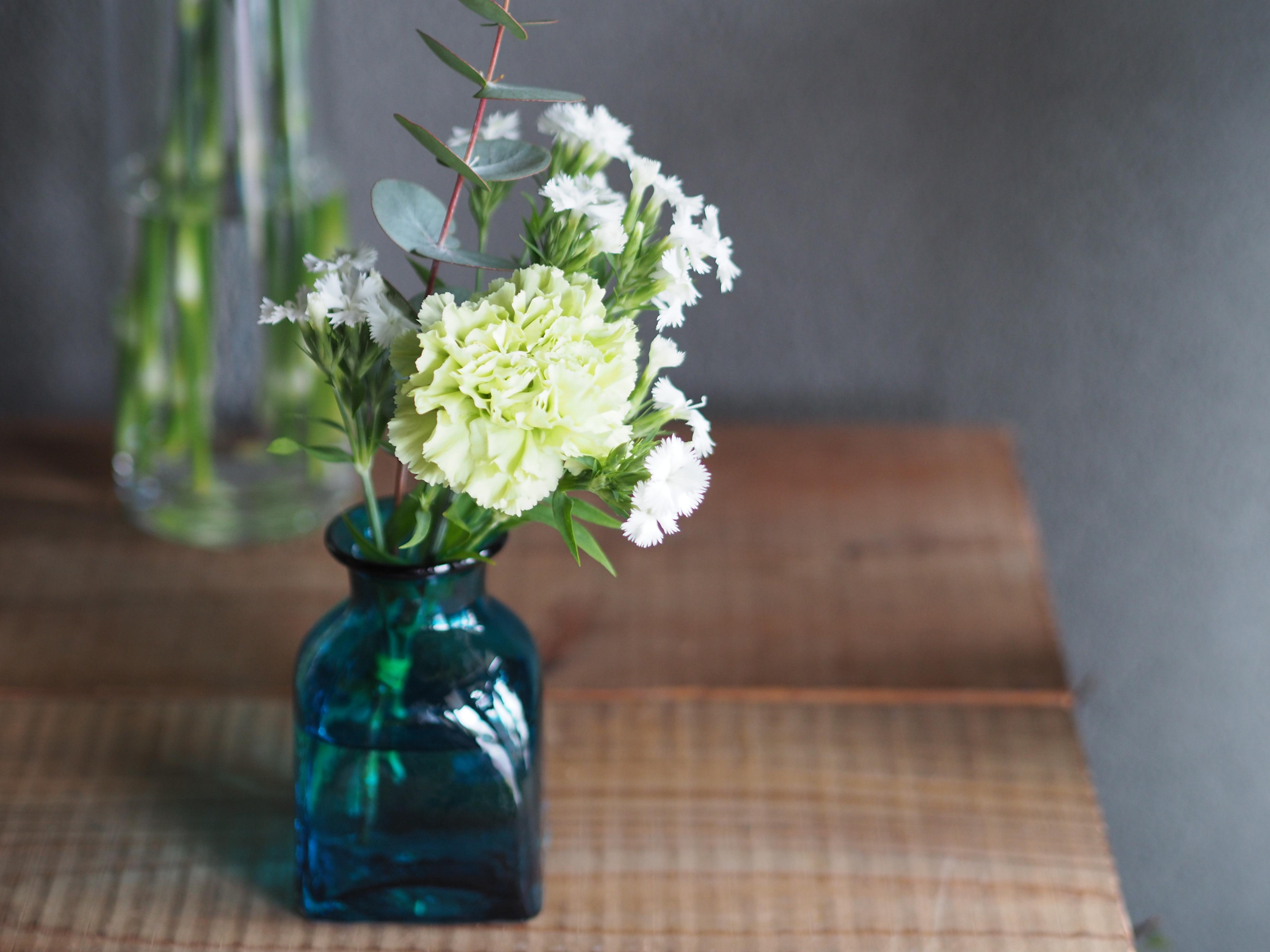 【地域限定】季節のお花定期便 600円×4回分(新森・清水のみ)
