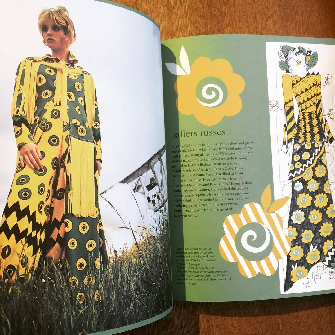 セリア・バートウェル作品集「Celia Birtwell」 - 画像2