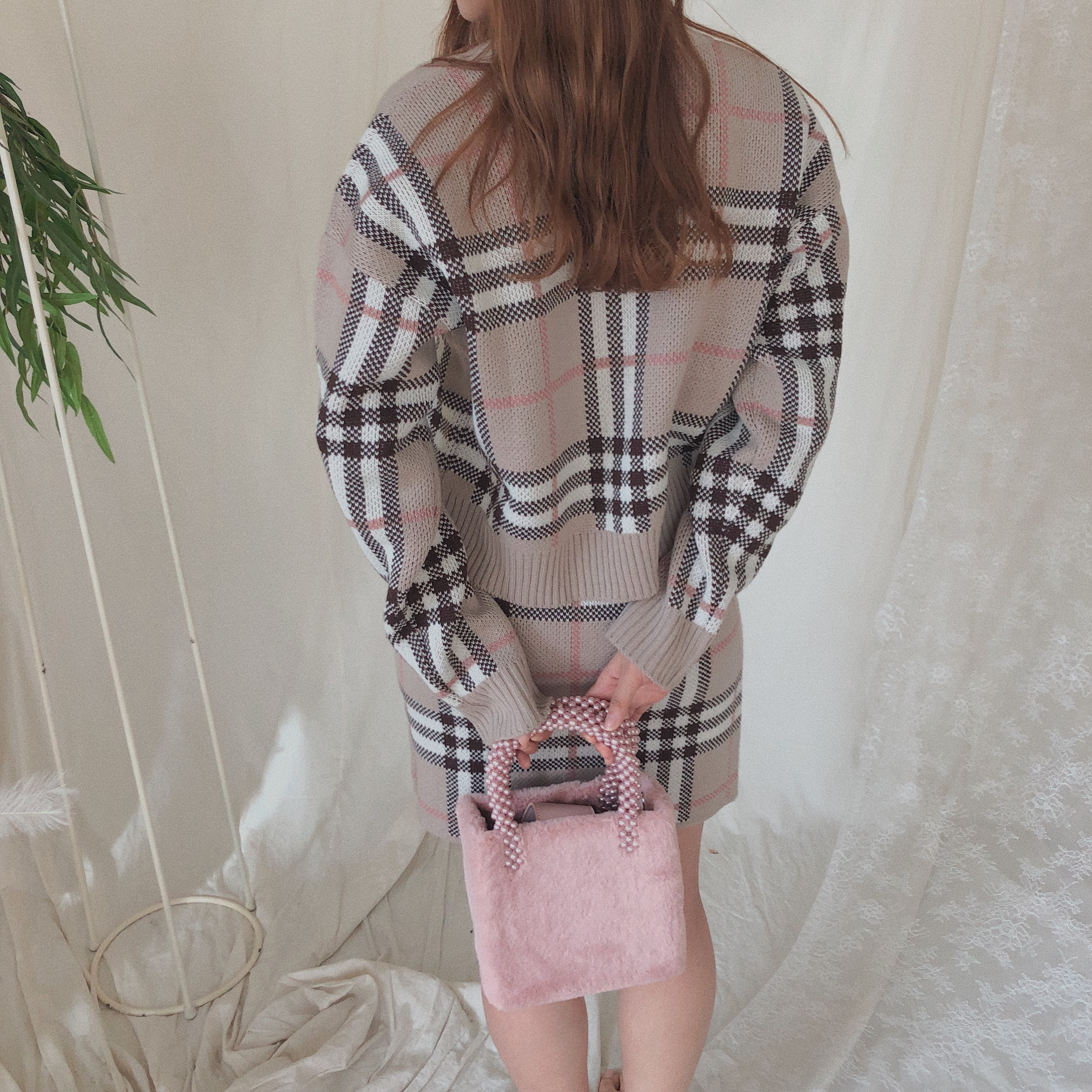 ♡I'm your girl setup (beige/gray)