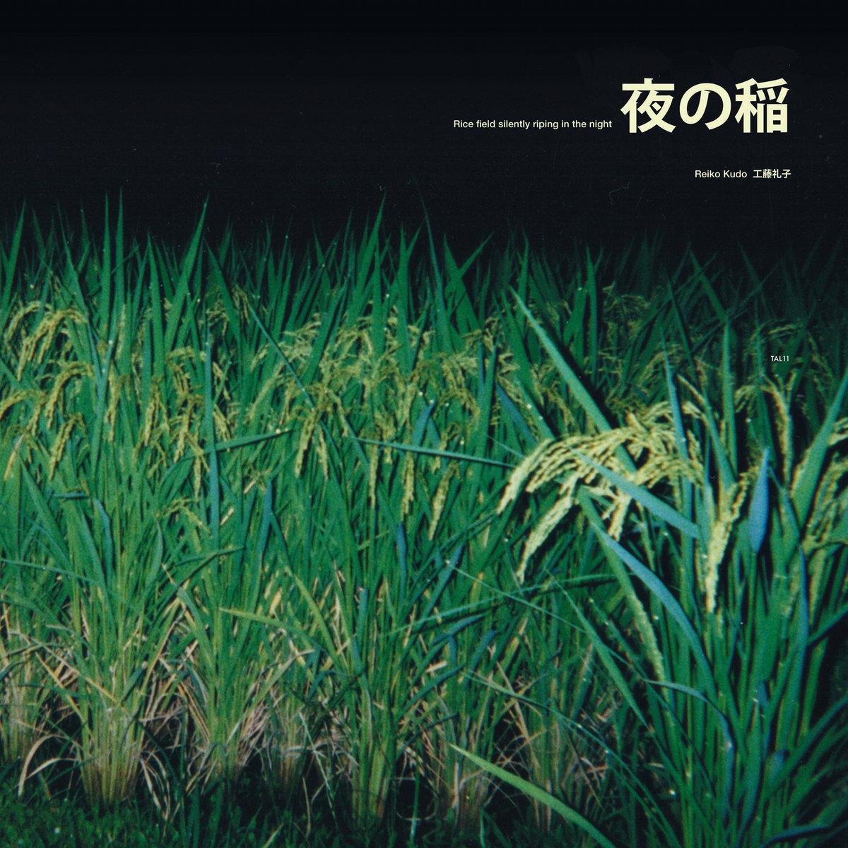 工藤礼子 Reiko Kudo - 夜の稲 Rice Field Silently Riping In The Night  (LP)