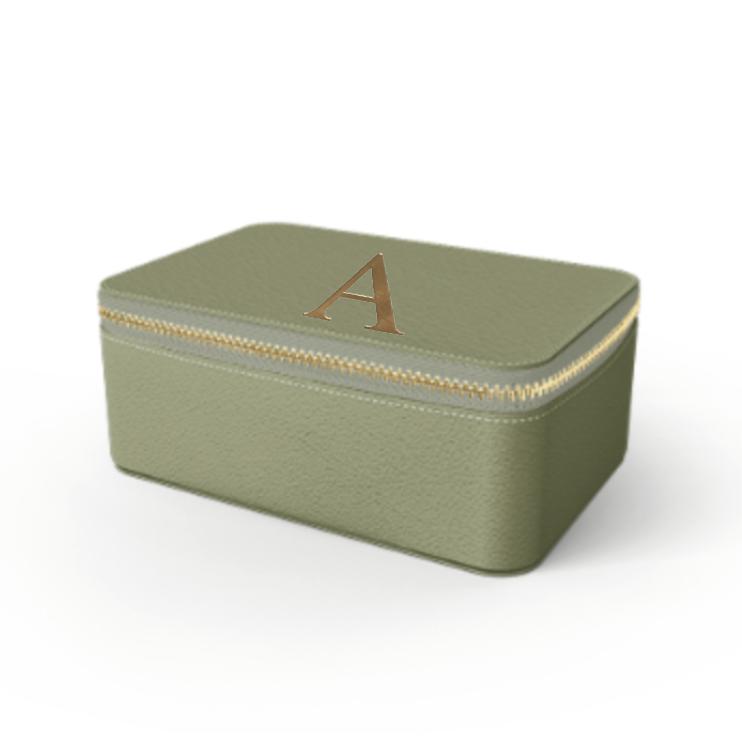 Box Premium Smooth Leather Case (Green Tea)
