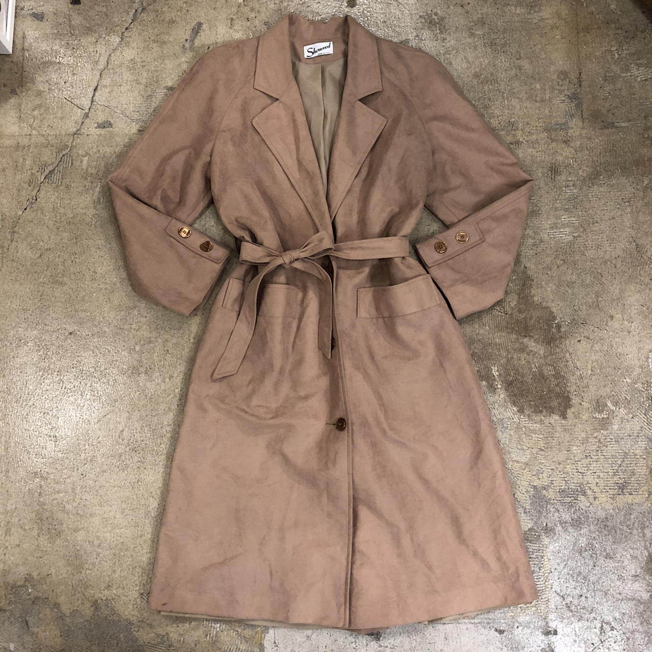 Vintage Camel Coat ¥12,800+tax