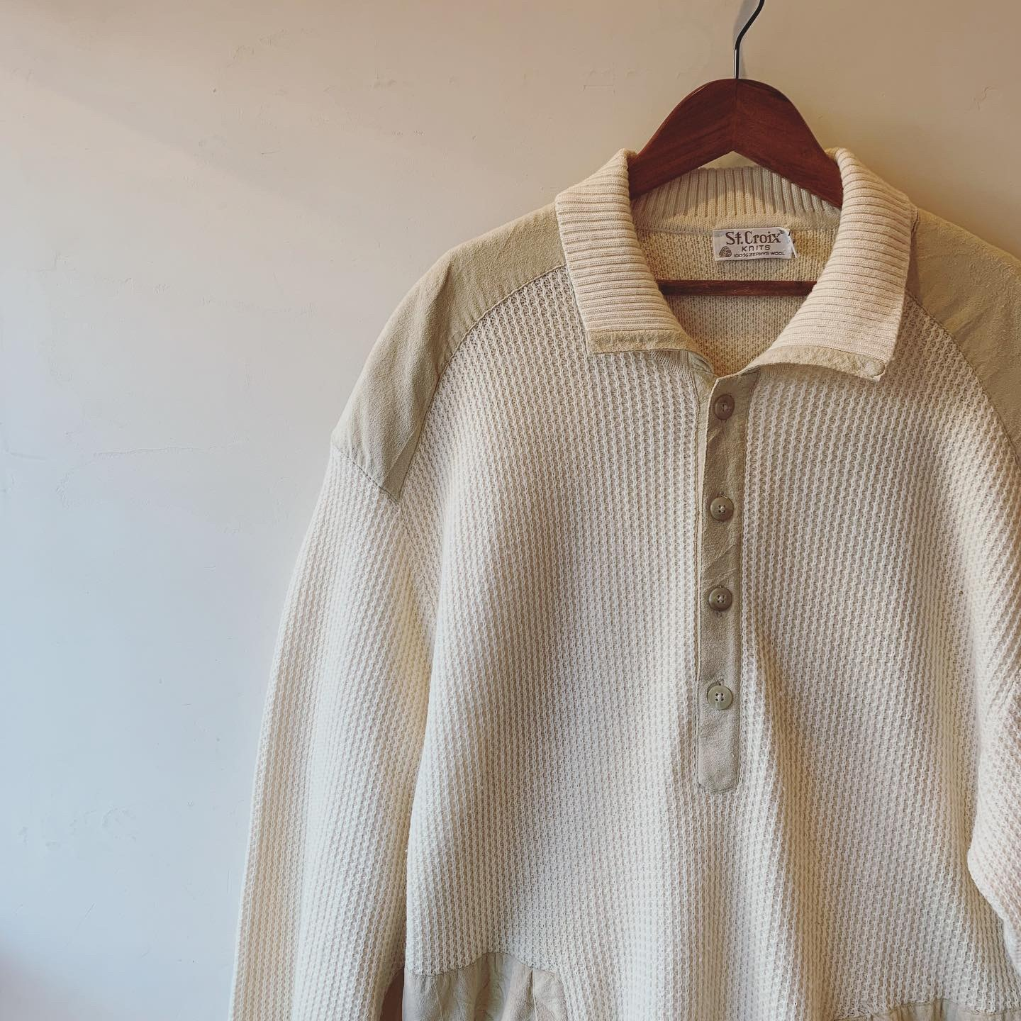 vintage oversized knit tops