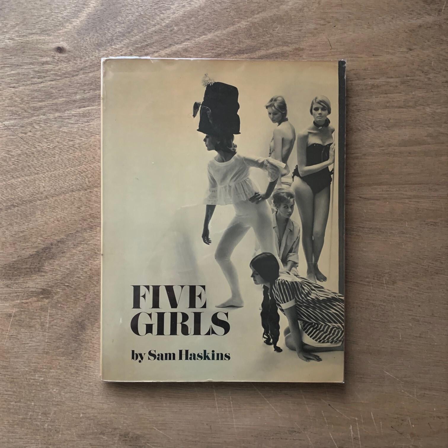 FIVE GIRLS  /  Sam Haskins サム・ハスキンス