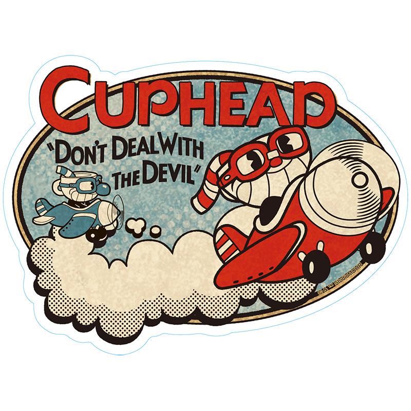 CUPHEAD ( カップヘッド ) トラベルステッカー② / エンスカイ