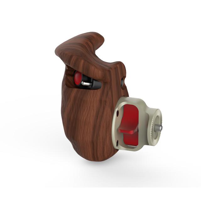 0390-0116 : LANCスイッチ付木製ハンドグリップ (右側)
