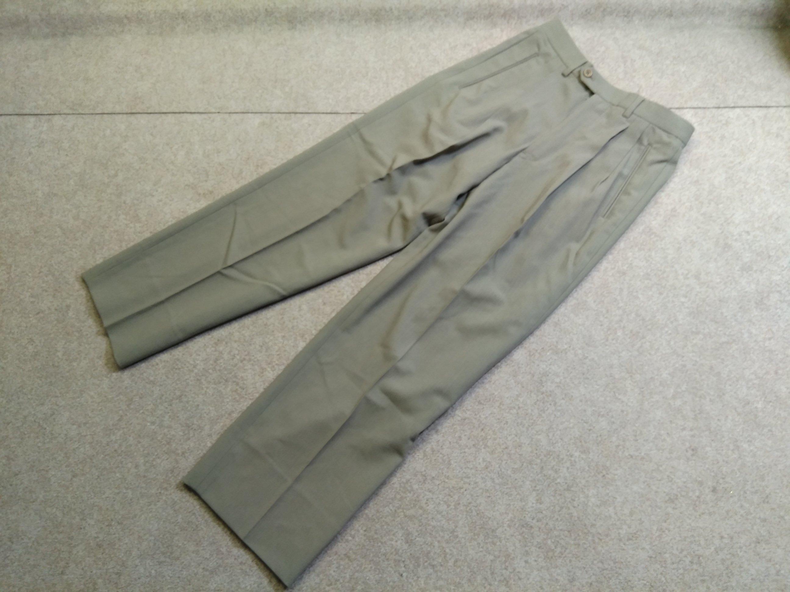 ジョルジオアルマーニ スラックス パンツ 44 グレー u1213a
