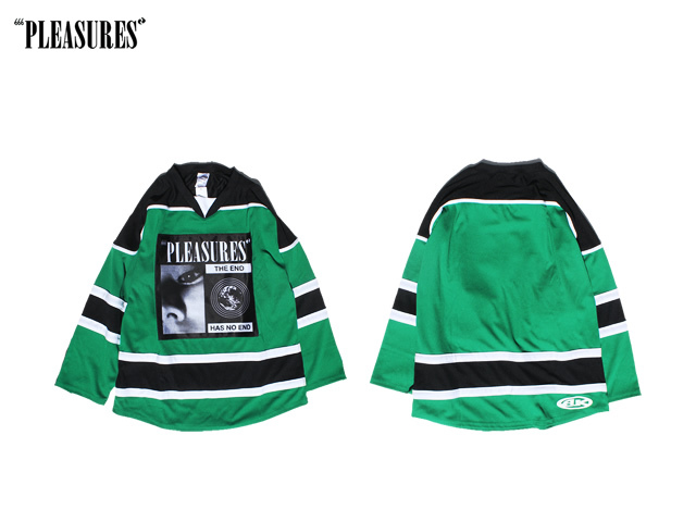 PLEASURES|NO END HOCKEY JERSEY