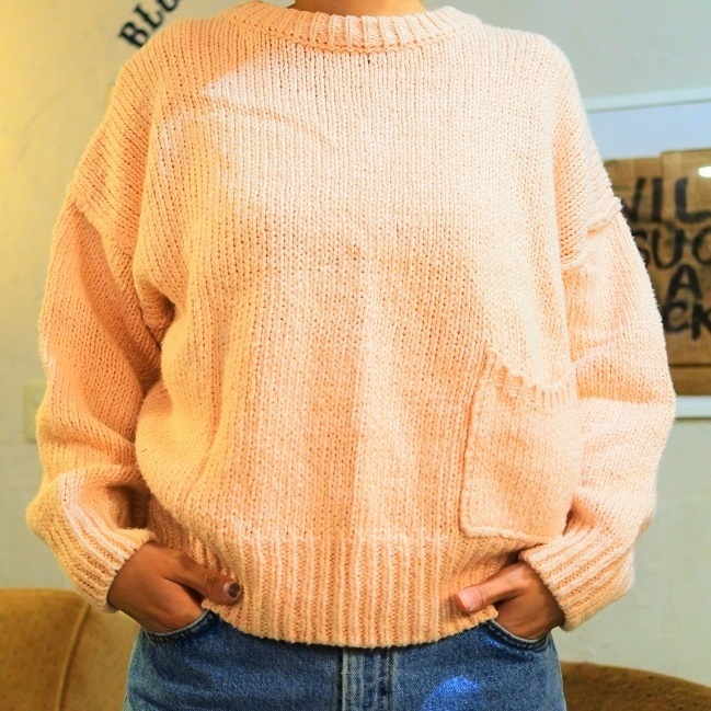 SALMON PINK SWEATER #MTTP-041