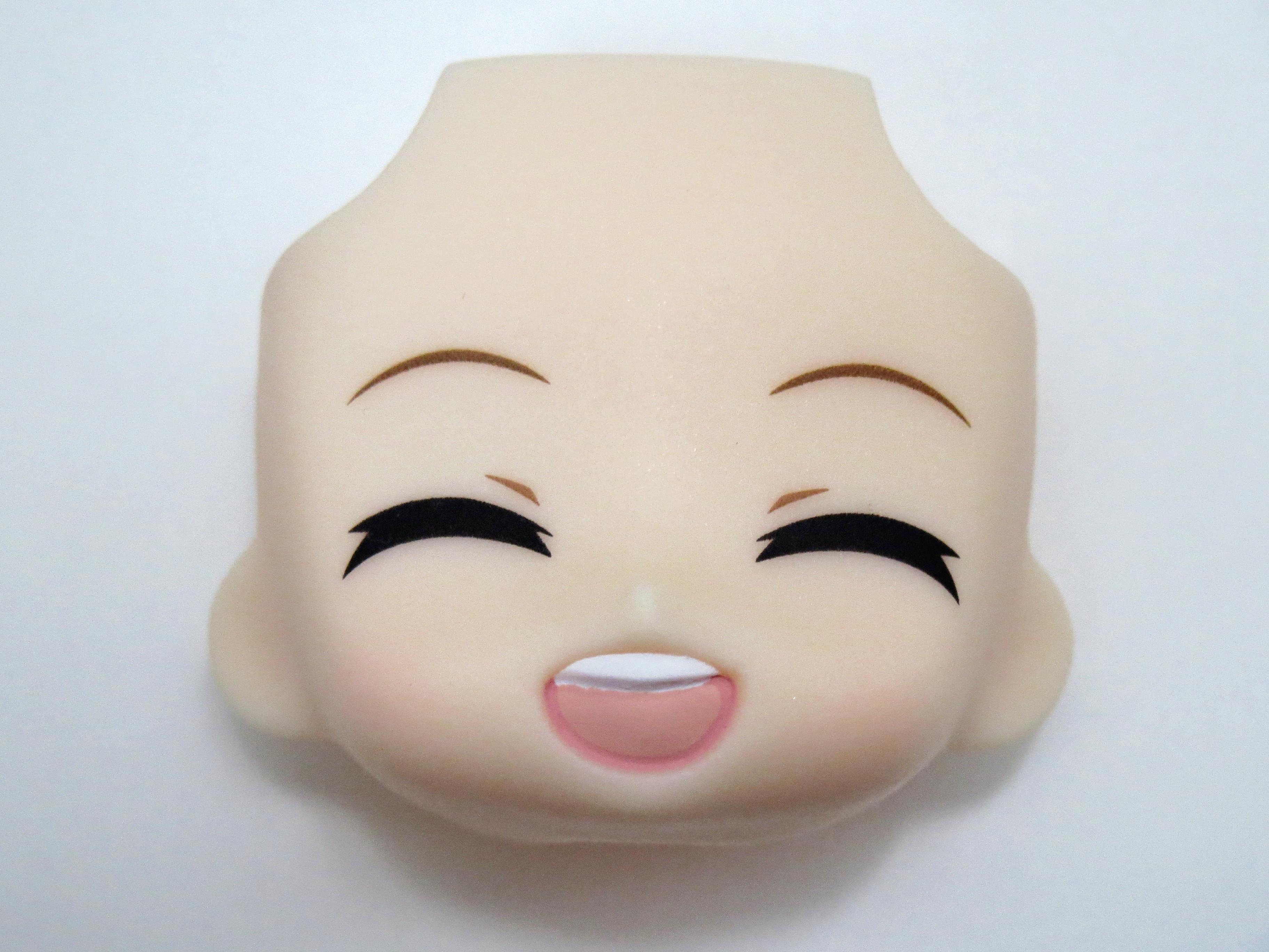 再入荷【340】 鏡音リン FamilyMart 2013Ver. 顔パーツ 笑顔 ねんどろいど