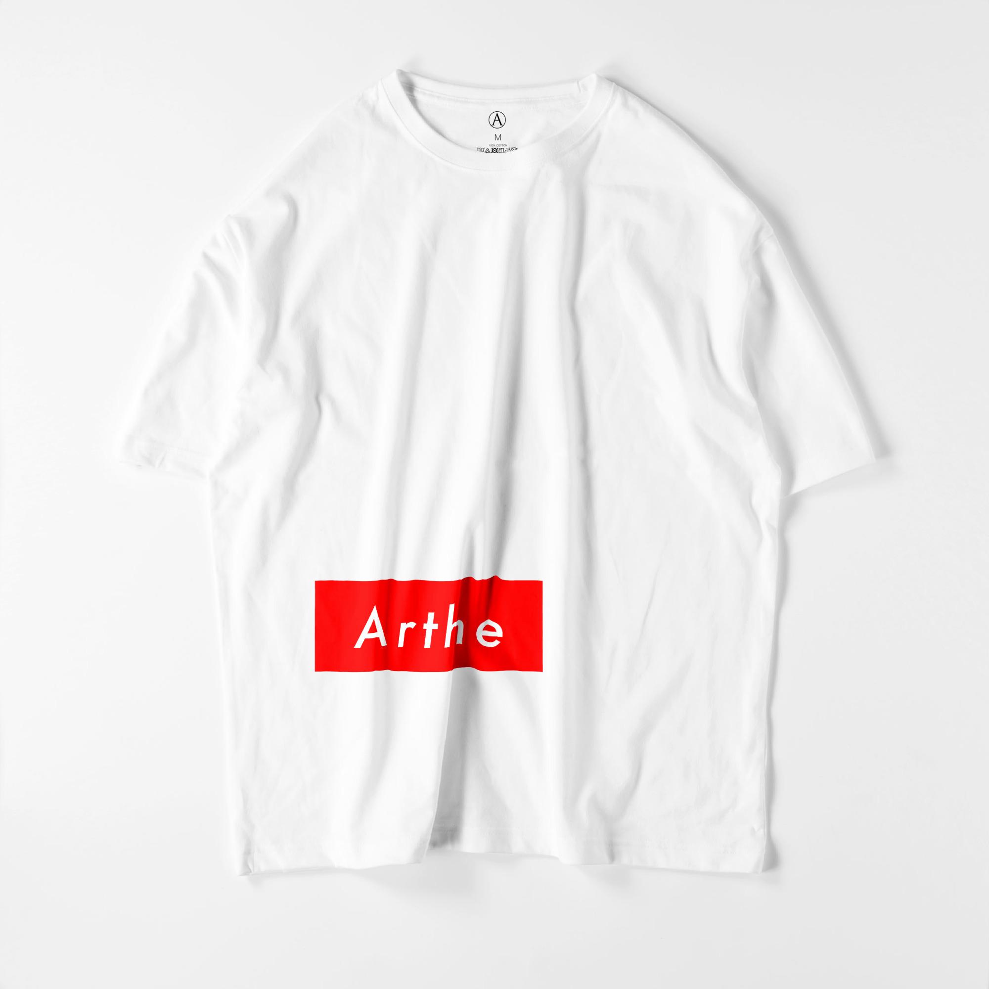 Arthe ビッグシルエットTシャツ ホワイト / Mens