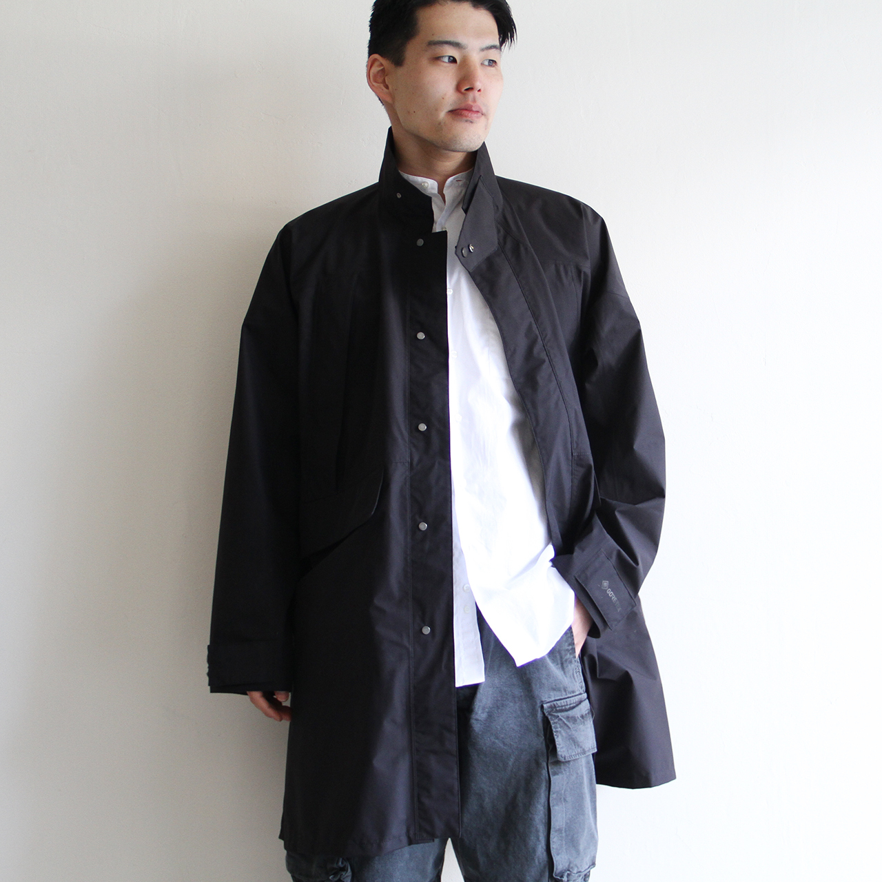 KAPTAIN SUNSHINE Made by GOLDWIN  【 mens 】gore-tex stand collar field coat