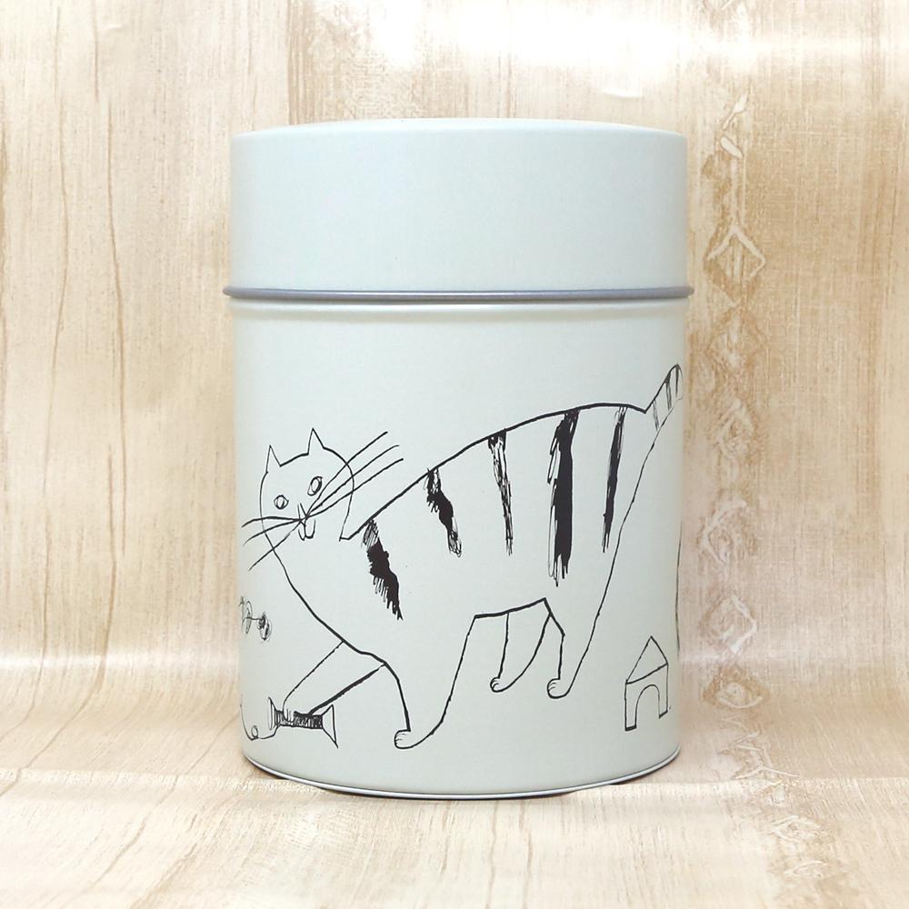 猫コーヒーキャニスター(トラネコボンボン)ベージュ
