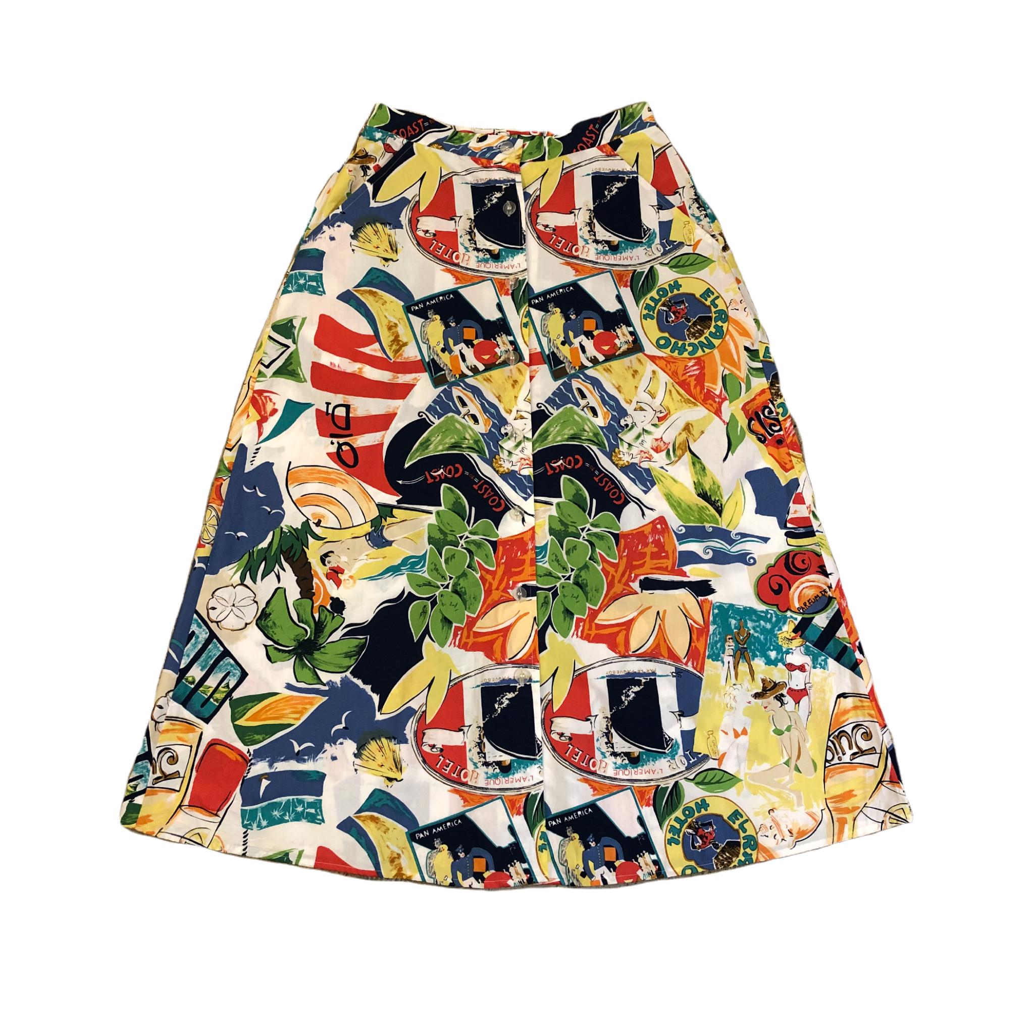 Classics Button Skirt ¥6,200+tax