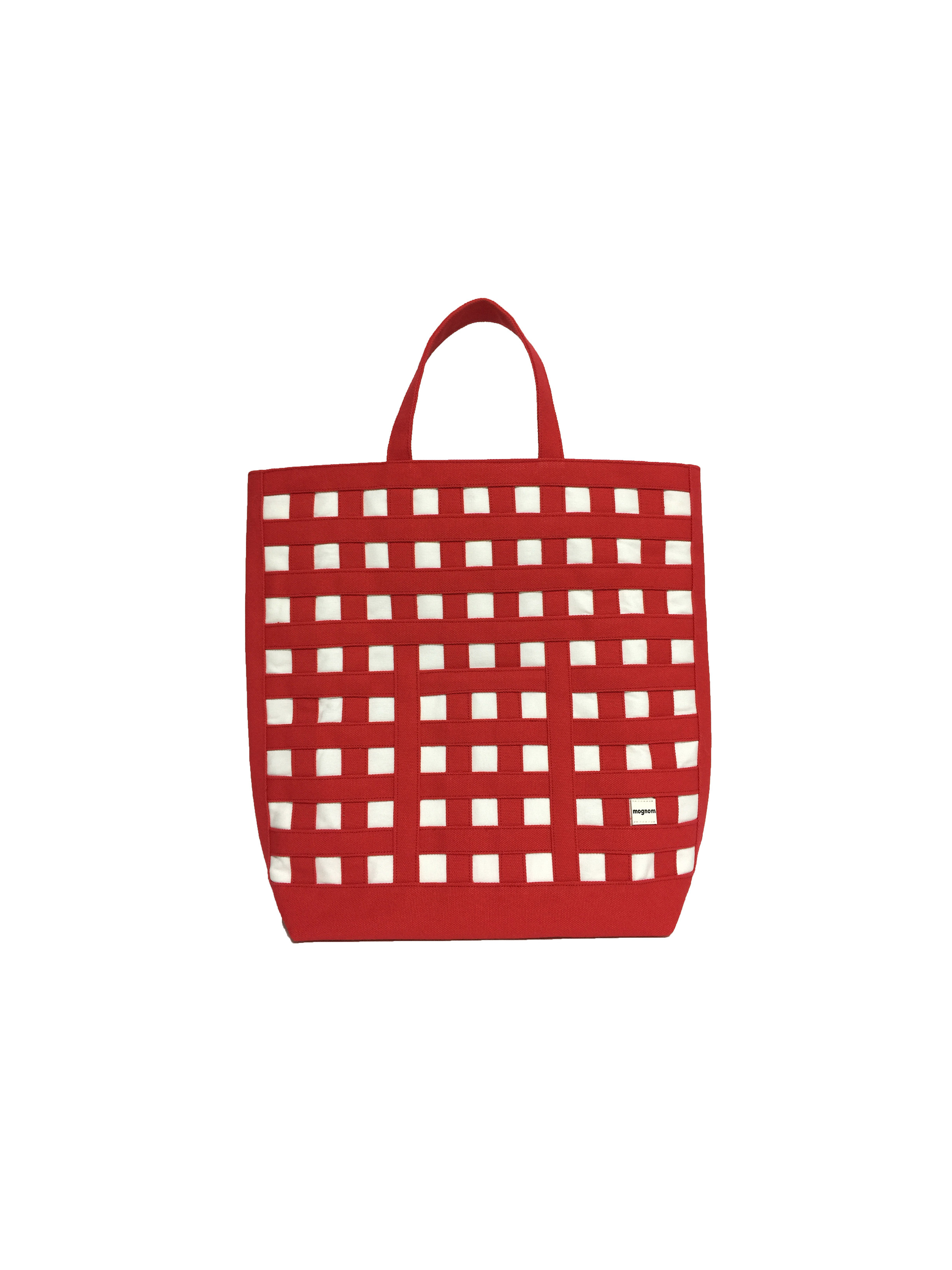 gingham tote ギンガムトート 20 レッド