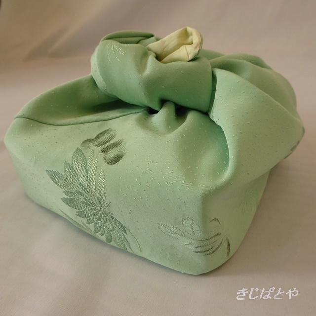 【K様ご予約品】あずま袋 若緑に菊