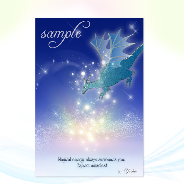 Magical Energy(ドラゴン・龍)/メッセージカードch.009