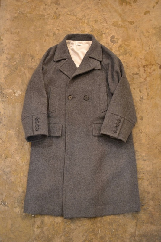 a-l / 003/a Super120's Wool Long Coat