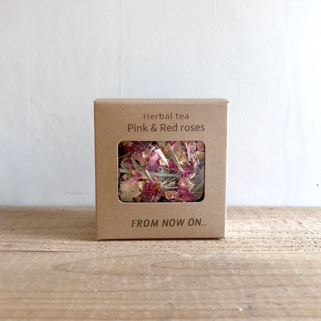 """"""" FNO Pink & Red Roases herbal tea / ピンク&レッドローズ ハーブティー カートンS 10g """""""