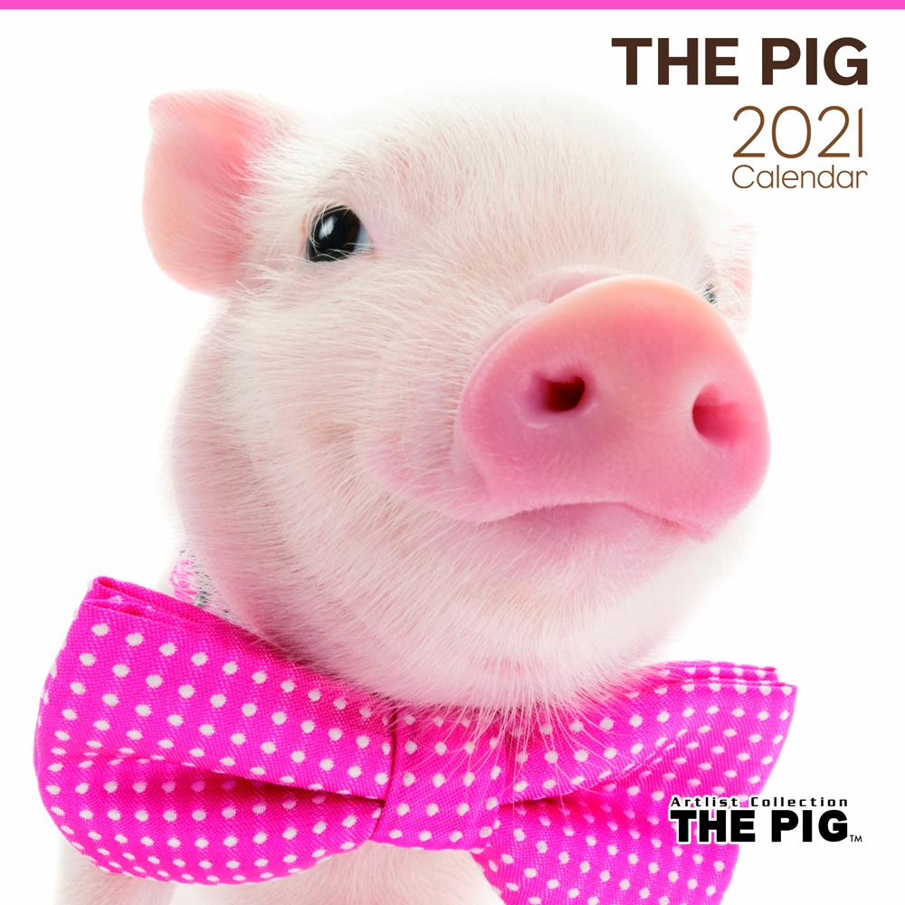 2021年 Artlist Collectionカレンダー【大判サイズ】THE PIG