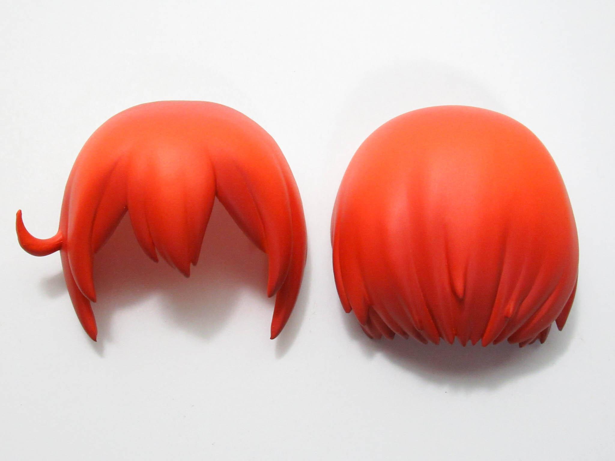 再入荷【1214】 赤血球  髪パーツ ショート ねんどろいど