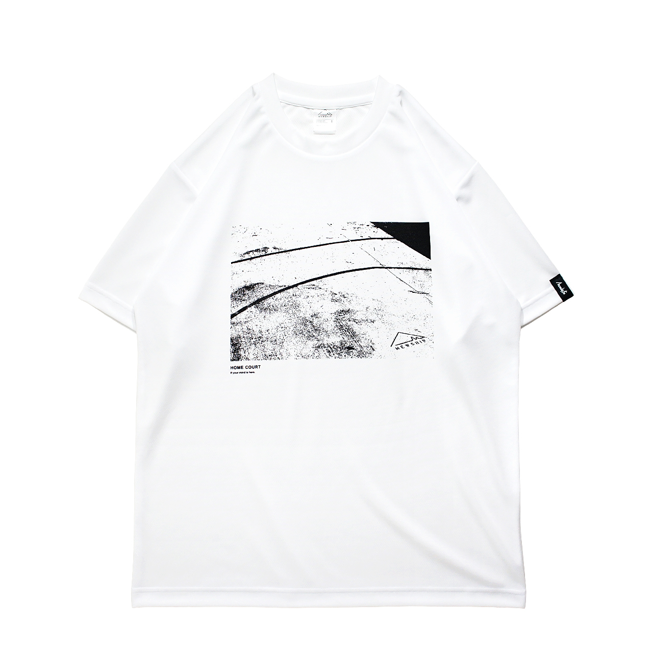 HOME COURT S/S PL <White×Black> - 画像1
